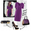 #FF Purple outfit