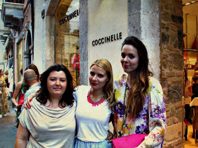 Chiacchiere con Veronica Ferraro e Irene Colzi all'evento Coccinelle