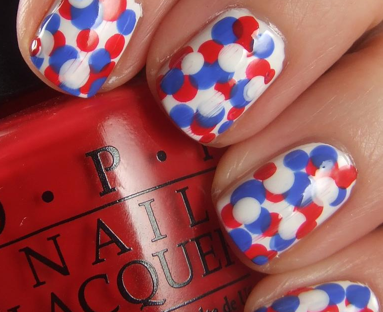 Easy Red White And Blue Nail Designs Online Coupons