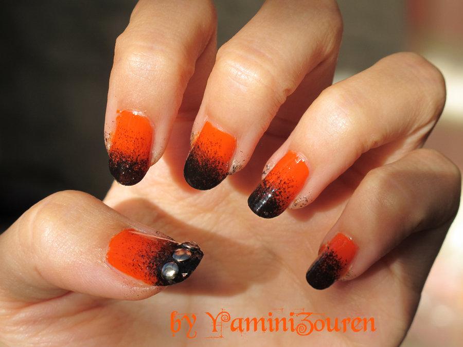 Black Nail Art Designs