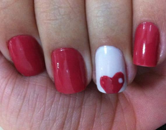 heart manicure 3