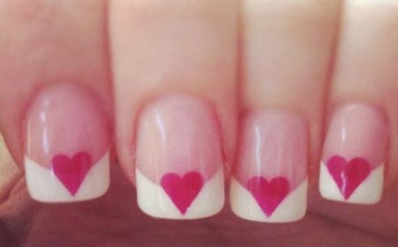 heart manicure 4