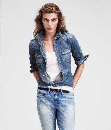 camicia jeans  2 h&m 24,95 euro