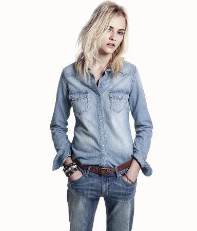 camicia jeans h&m 24,95 euro