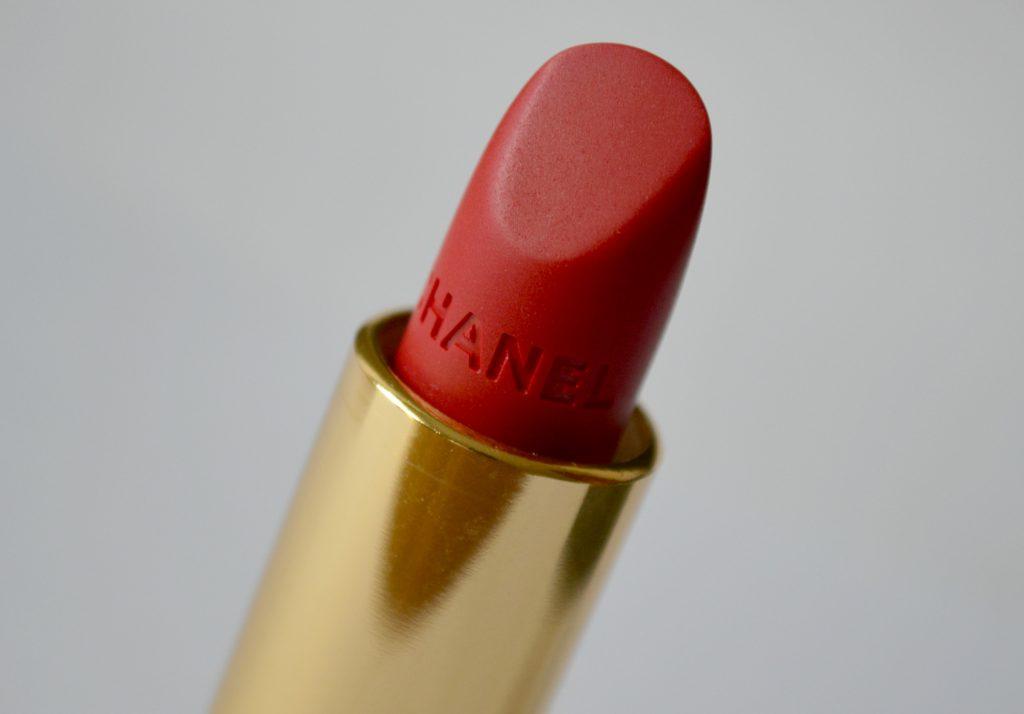 Chanel rouge allure velvet n317 La Précieuse