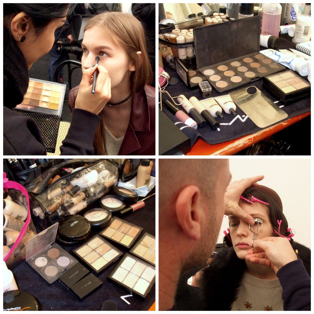 Mac Backstage Fausto Puglisi Collage