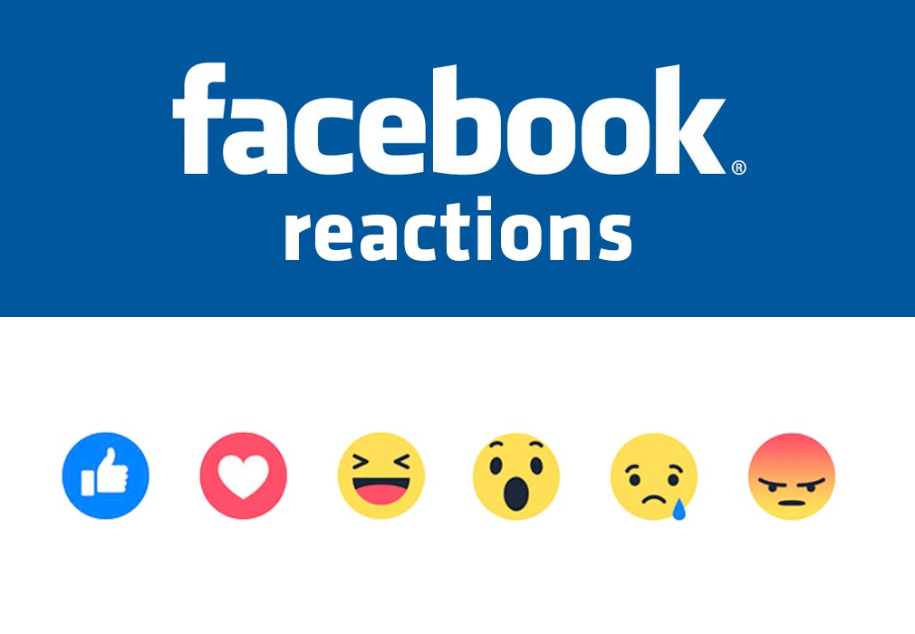 facebbok reactions